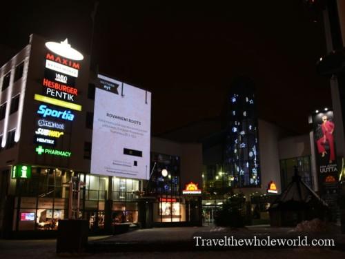Finland Rovaniemi Mall