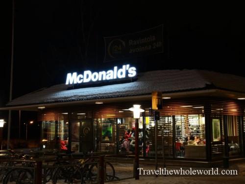 Finland Rovaniemi McDonald's