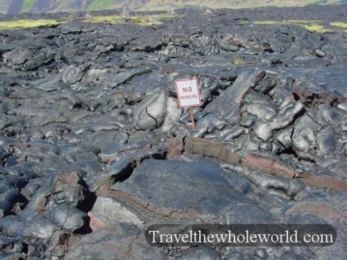 Hawaii-Big-Island-Lava-Parking-Sign