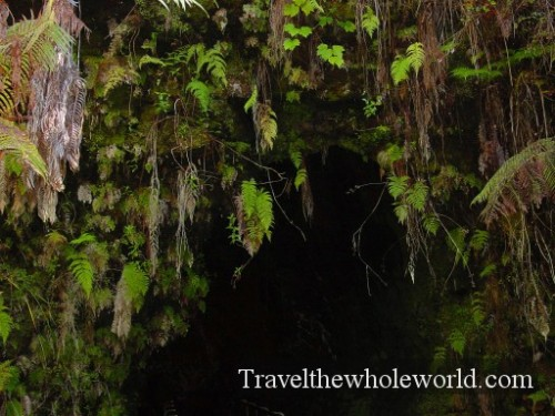 Hawaii-Lava-Cave-Entrance