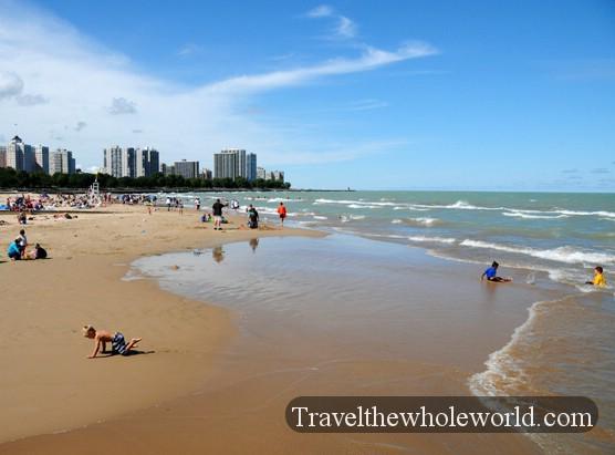 Lake Michigan Chicago Beach The Best Beaches In World