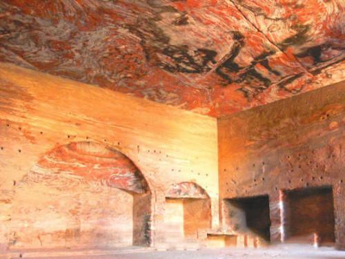 Jordan Petra Building Arch Room