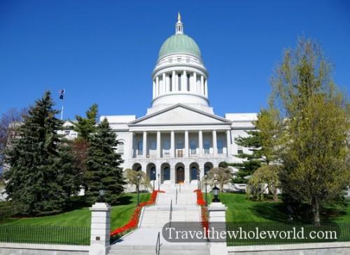 Maine-Augusta-Capitol