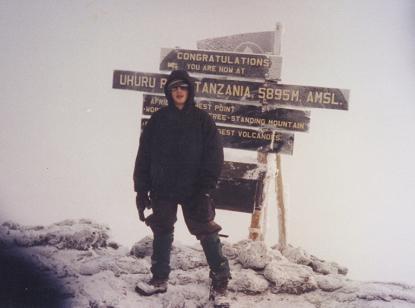 George Kashouh Kilimanjaro