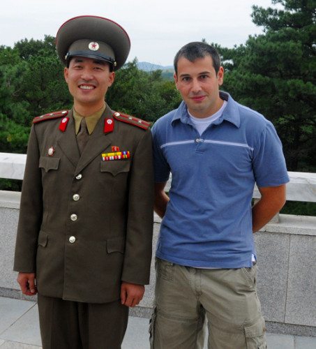 Me North Korea DMZ
