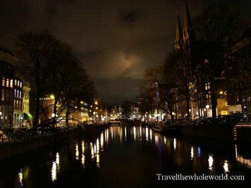 Netherlands-Amsterdam-Night