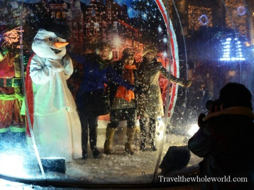 Netherlands-Amsterdam-Snow-Globe