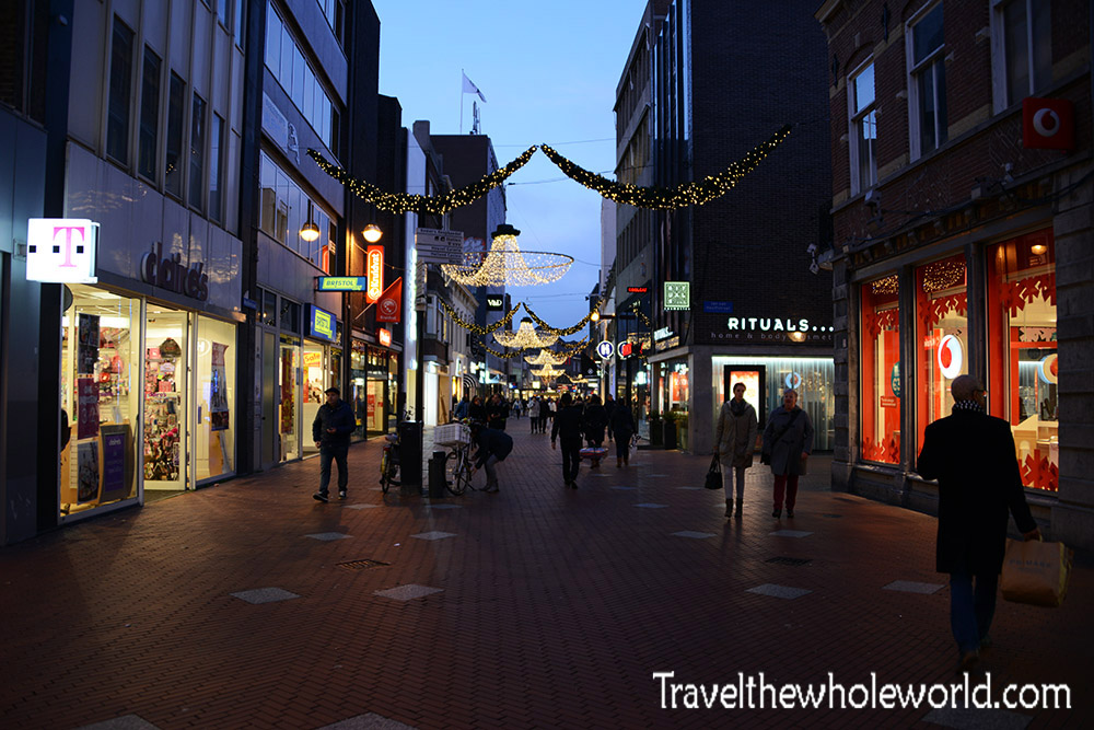 Netherlands Eindhoven Shopping District