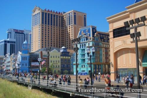 New Jersey Atlantic City Ballys Boardwalk