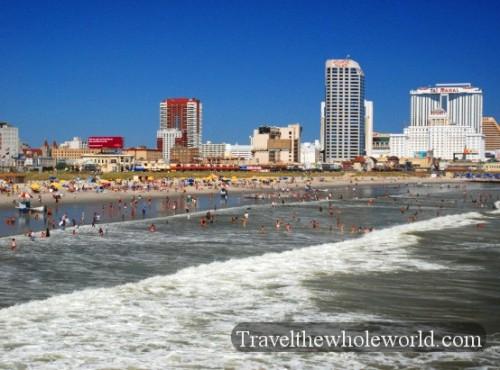 New Jersey Atlantic City Beach