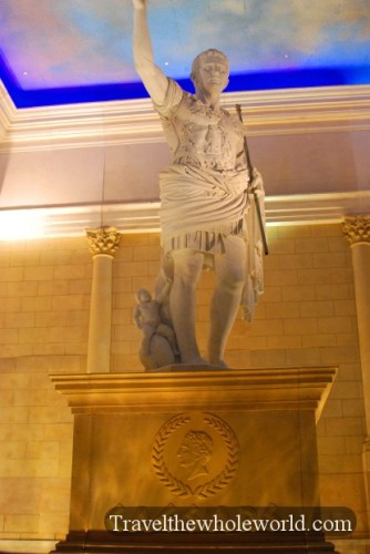 New Jersey Atlantic City Caesars Statue