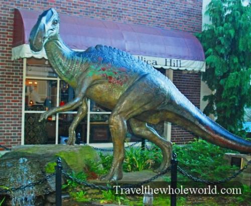 New Jersey Haddonfield Dinosaur