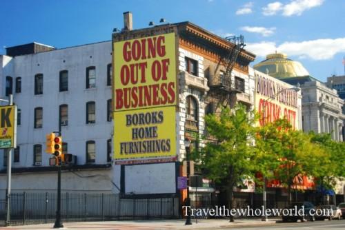 New Jersey Newark Broad Street