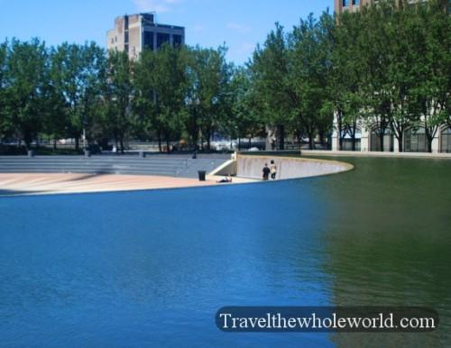 New Jersey Newark Fountain