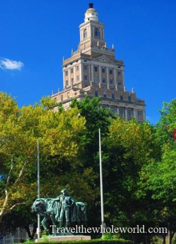 New Jersey Newark Statue