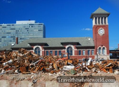 New Jersey Newark Train Station