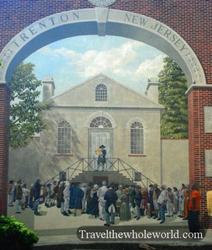 New Jersey Trenton Mural