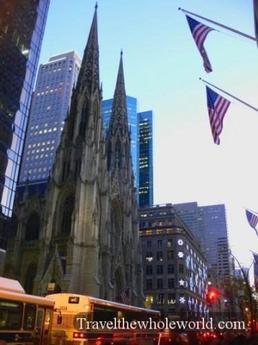 New York City 5th Avenue Church