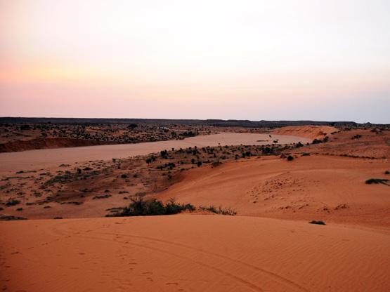 Niger Niamey Dunes