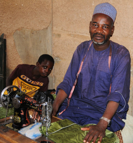 Niger Niamey Market Man