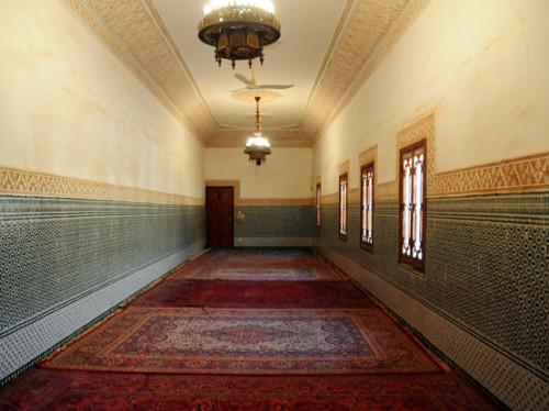 Niger Niamey Mosque Hallway