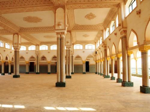 Niger Niamey Mosque Inside