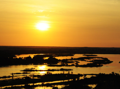 Niger River Sunset