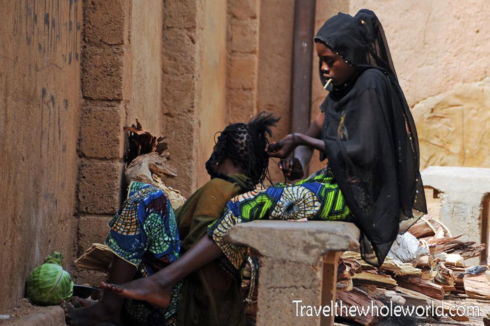 Niger Zinder Hair Braiding