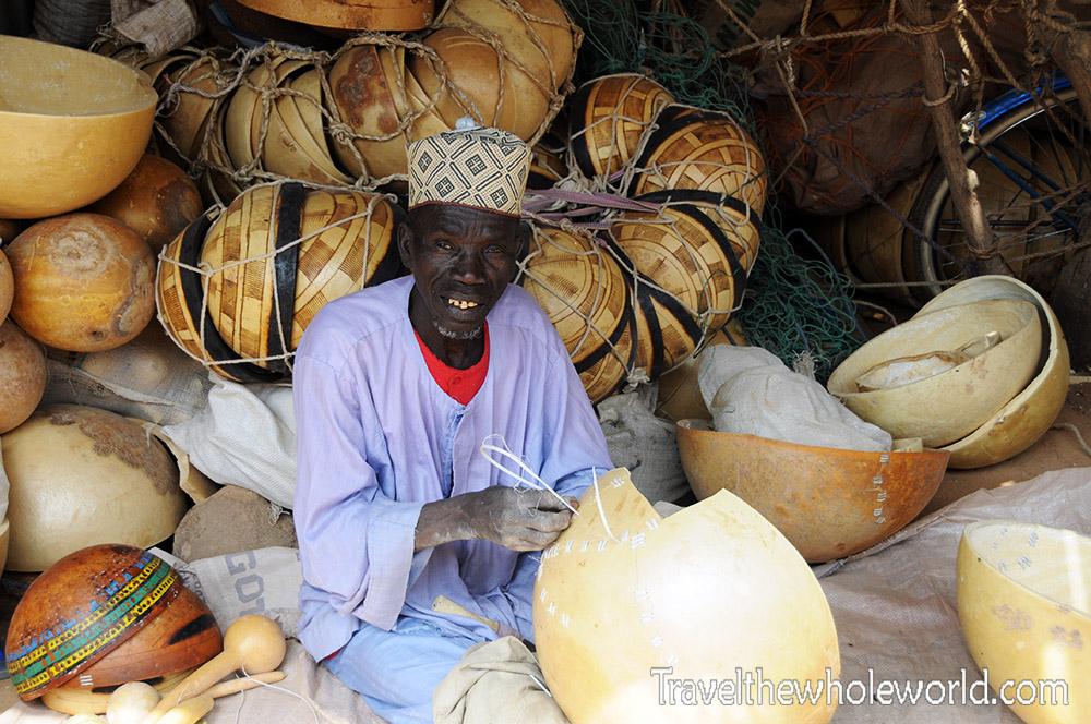 Niger Zinder Market Man