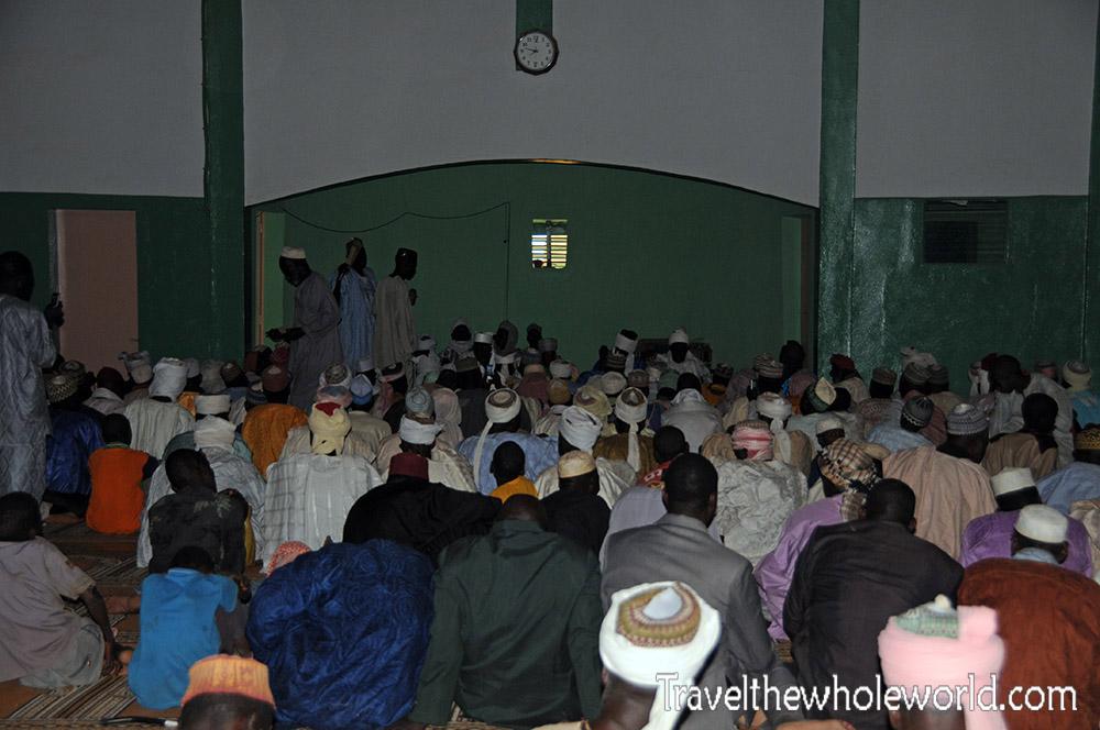 Niger Zinder Mosque Prayer