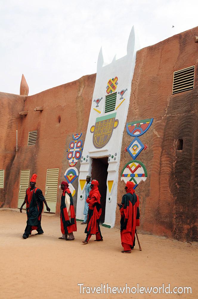 Niger Zinder Palace Entrance