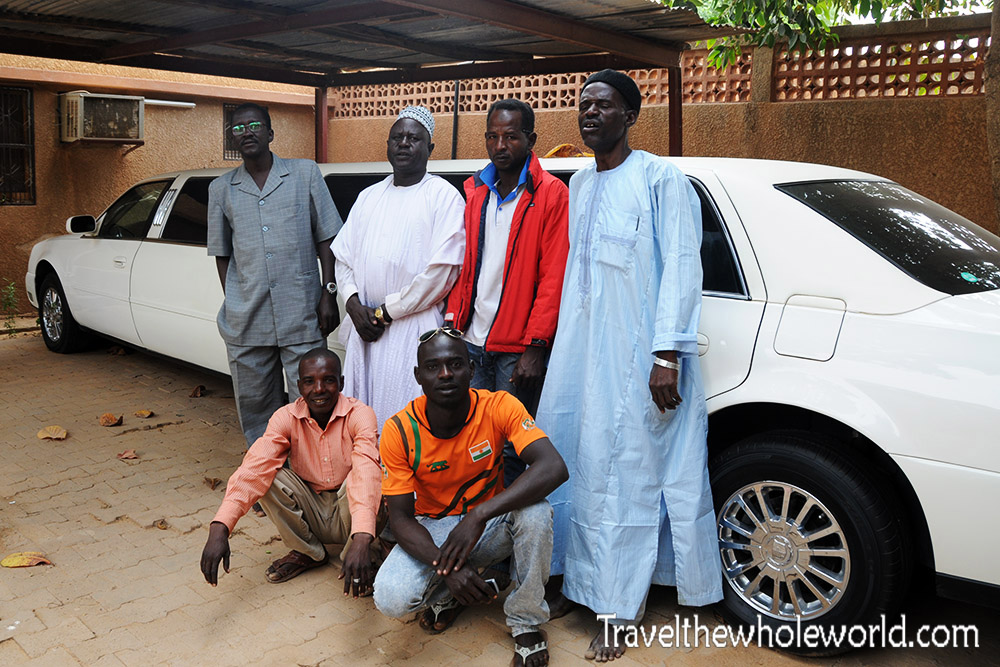 Niger Zinder Palace Limo