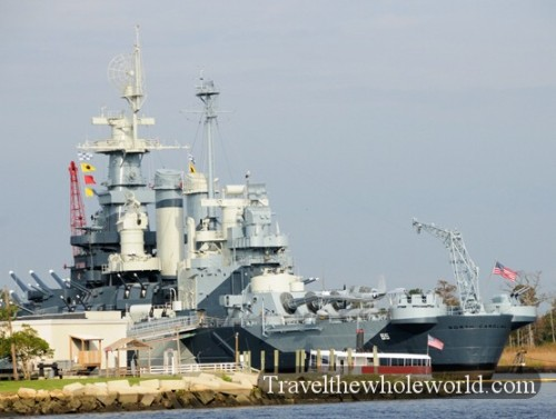 North Carolina Wilmington Battleship