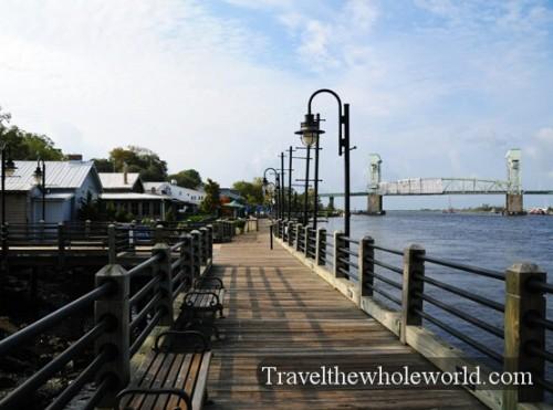North Carolina Wilmington Docks
