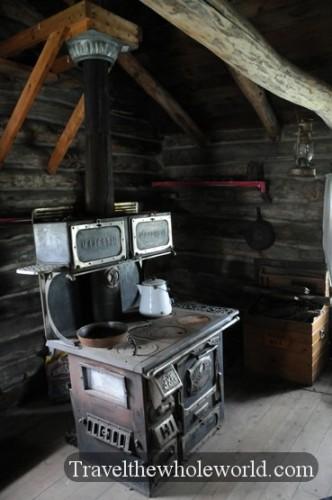 Bonanzaville Cabin Inside