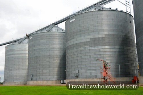 North Dakota Farm Silos
