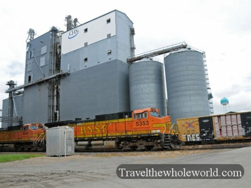 North Dakota Silo Train