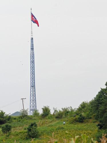 North Korea DMZ Flag
