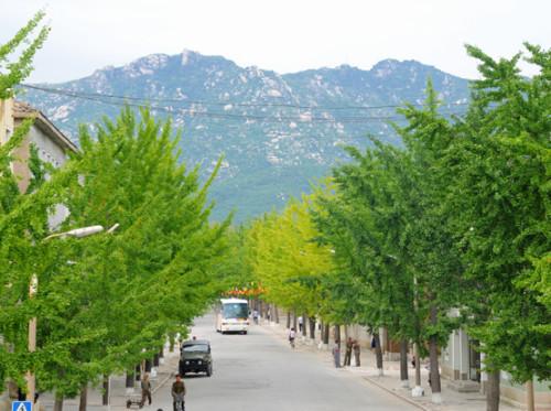 North Korea Kaesong Mountains