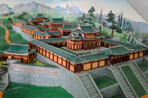 North Korea Kaesong Temple