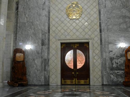 North-Korea Myoyang Friendship Hall Entrance