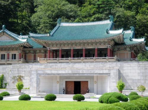 North Korea Myoyang Friendship Hall