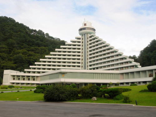 North Korea Myoyang Hotel
