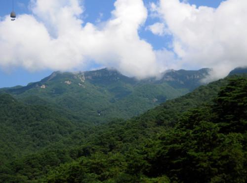 North Korea Myoyang Mountains