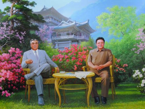 North Korea Myoyang Painting
