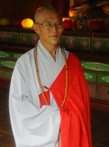 North Korea Myoyang Temple Monk