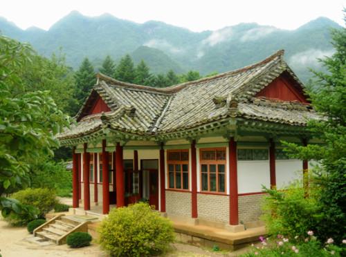North Korea Myoyang Temple