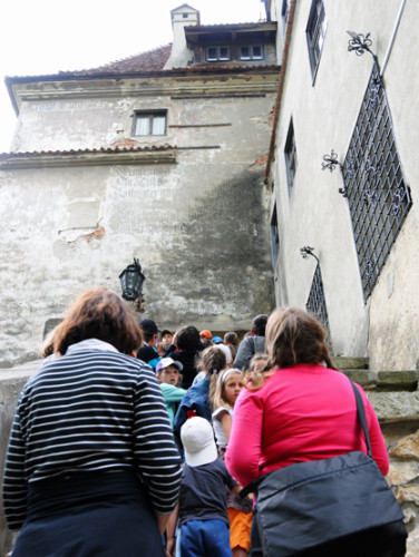 Romania Bran Castle Annoying Kids