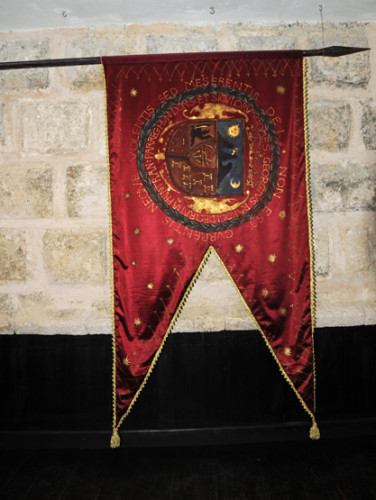 Romania Bran Castle Flag