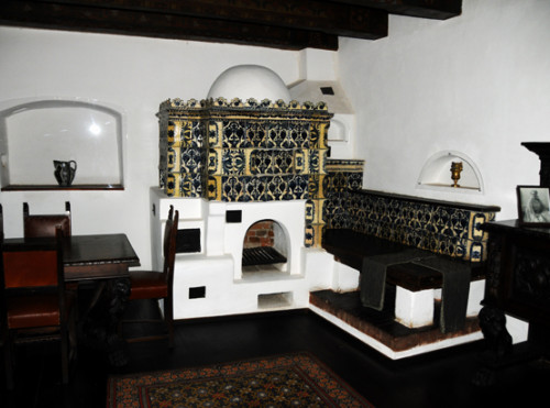 Romania Bran Castle Kitchen